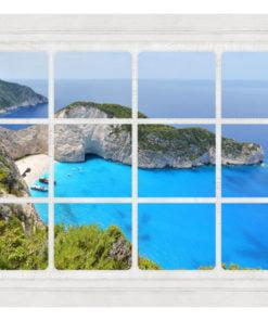 Fotobehang - Window on the world-2