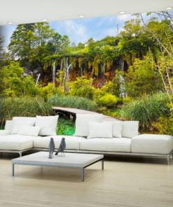 Fotobehang - Green oasis-1