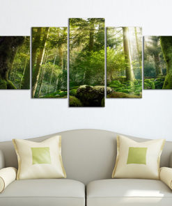 Schilderij - The Beauty of the Forest-2