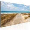 Schilderij - Windy Beach-1