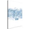 Schilderij - Ice Land (1 Part) Vertical-1