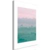 Schilderij - Foggy Dawn (1 Part) Vertical-1