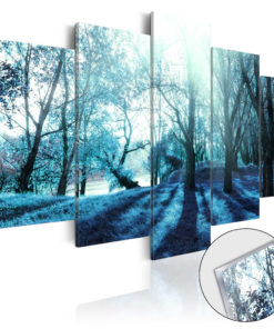 Afbeelding op acrylglas - Blue Glade [Glass]-1