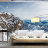 Fotobehang XXL - Winter in Zugspitze-1