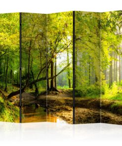 Vouwscherm - Forest Clearing II [Room Dividers]-1