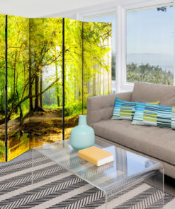 Vouwscherm - Forest Clearing II [Room Dividers]-2