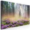 Schilderij - Purple Meadow (1 Part) Wide-1