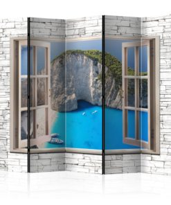 Vouwscherm - Azure Paradise II [Room Dividers]-1