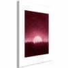 Schilderij - Full Moon (1 Part) Vertical-1