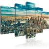 Schilderij - NY: Dream City-1
