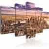 Schilderij - Sleeplessness in New York-1