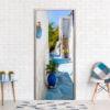 Fotobehang voor deuren - Blue Alley-1