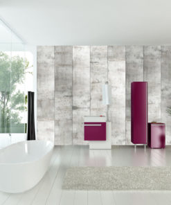 Fotobehang - Concrete mosaic-1