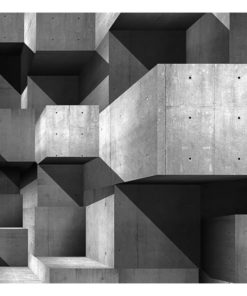 Fotobehang - Concrete skyscrapers-2