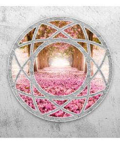 Fotobehang - Enchanted window-2