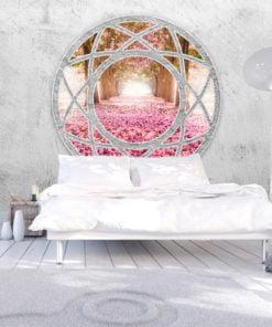 Fotobehang - Enchanted window-1