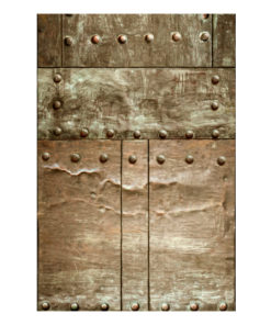 Fotobehang - Brass mosaic-2
