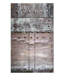 Fotobehang - Brass wall-2