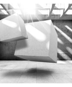 Fotobehang - Dancing Squares-2