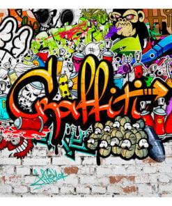 Fotobehang - Colorful Graffiti-2