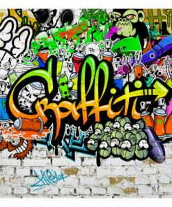 Fotobehang - Graffiti on the Wall-2