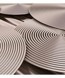 Fotobehang - Copper Spirals-2