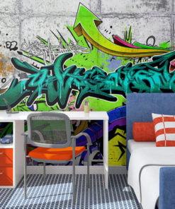Fotobehang - Colours of a City-1