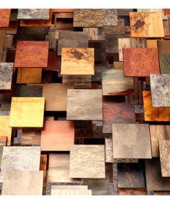 Fotobehang - Copper Roof-2