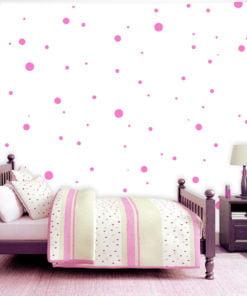 Fotobehang - Charming Dots-1