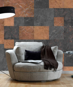 Fotobehang - Marble Mosaic-1