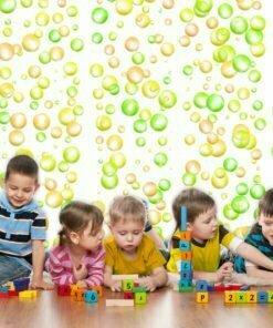 Fotobehang - Fun Bubbles-1