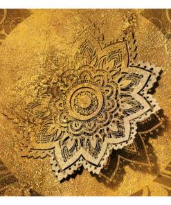 Fotobehang - Golden Illumination-2