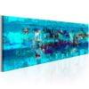 Schilderij - Abstract Ocean-1