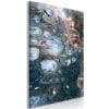 Schilderij - Ocean of Stain (1 Part) Vertical-1