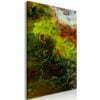 Schilderij - Green Elements (1 Part) Vertical-1