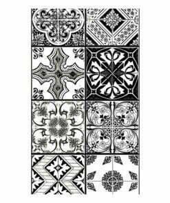 Fotobehang - Arabesque - Black& White-2