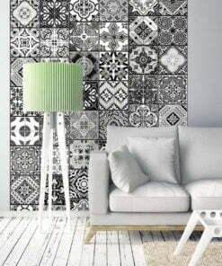 Fotobehang - Arabesque - Black& White-1