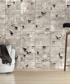 Fotobehang - Bird Migrations-1