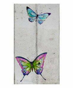 Fotobehang - Butterflies and Concrete-2
