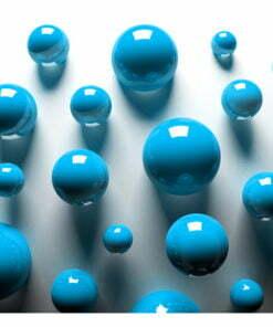 Fotobehang - Blue Balls-2
