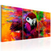 Schilderij - Jungle of Colours-1