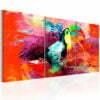 Schilderij - Colourful Toucan-1