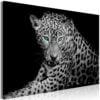 Schilderij - Leopard Portrait (1 Part) Wide-1