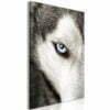 Schilderij - Dog's Look (1 Part) Vertical-1