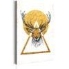 Schilderij - My Home: Golden Deer-1
