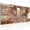 Schilderij - Stone Guard-1