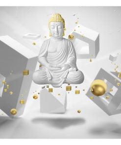 Fotobehang - Geometric meditation-2