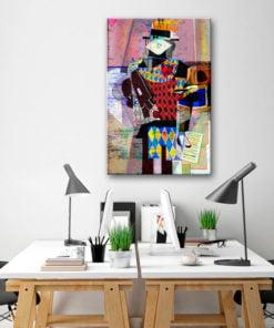 Schilderij - Melody of Modernity-2