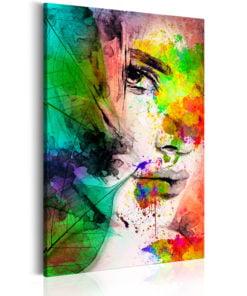 Schilderij - Colors of Feminity-1