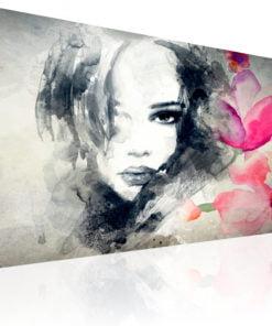 Schilderij - Mysterious Look-1